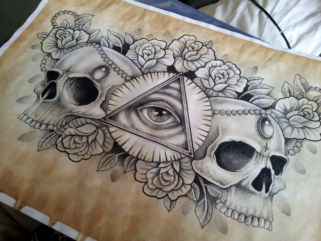 chest tattoo images designs. Black Bedroom Furniture Sets. Home Design Ideas