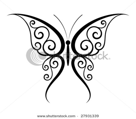 butterfly tattoos designs ideas page 49. Black Bedroom Furniture Sets. Home Design Ideas