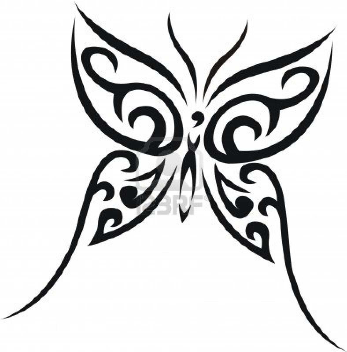 free templates tattoo tribal Tattoos Butterfly More: View