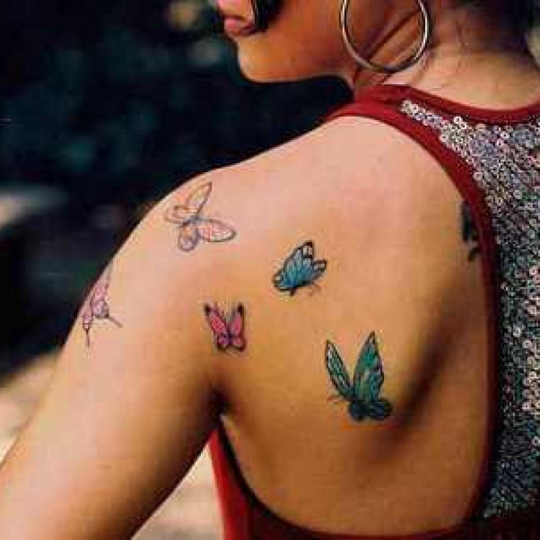 Женские популярные тату для