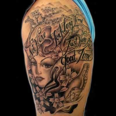 Biomechanical tattoo images designs for Beautiful half sleeve tattoos