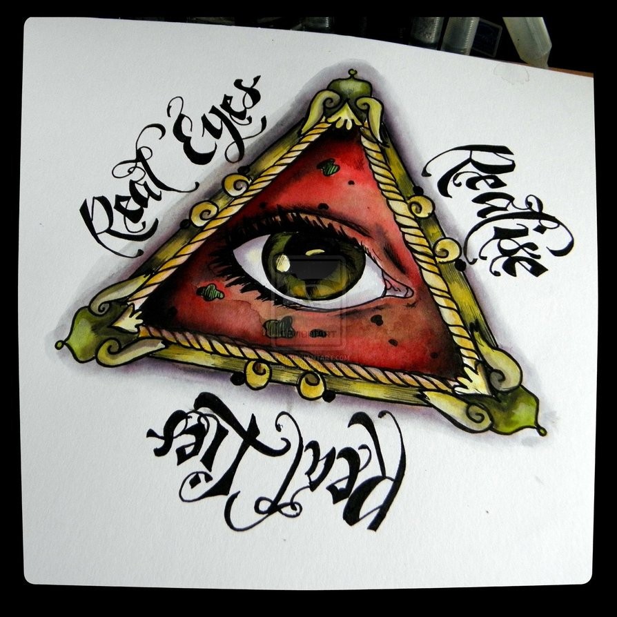 Illuminati Tattoos Designs Eye tattoo design
