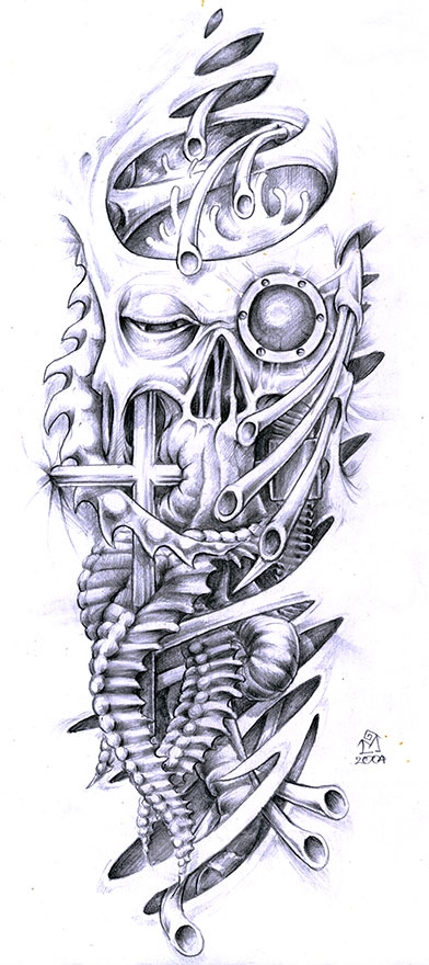 Gallery For gt Mechanical Bird Tattoo Designs