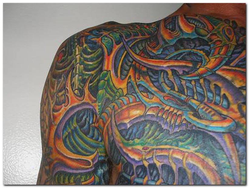 Images Of Biomechanical Tattoos: Biomechanical Tattoo Images & Designs