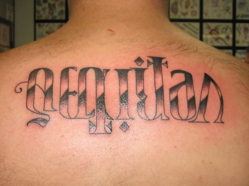 Veritas ambigram tattoo design for Veritas aequitas tattoos