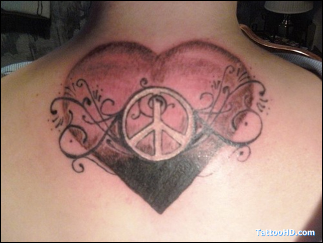 Pin love hate ambigram design 40 beautiful and amazing for Love n hate tattoo