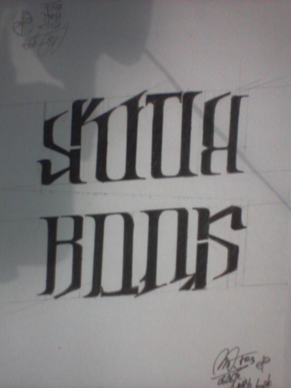 Ambigram Tattoos Ideas & Designs