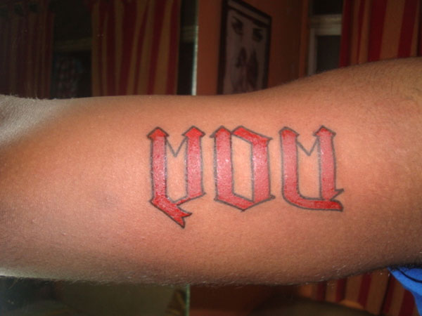 Ambigram tattoo images designs for Cheap moms tattoo ink