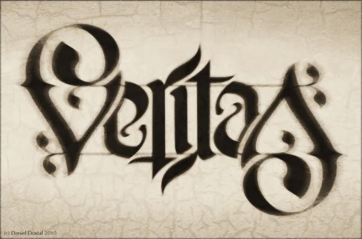 Aequitas veritas ambigram galleryhip com the hippest galleries