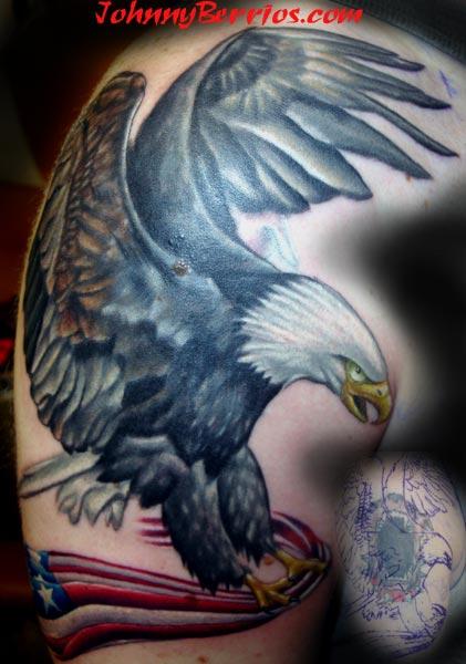 Eagle Tattoo Images & Designs