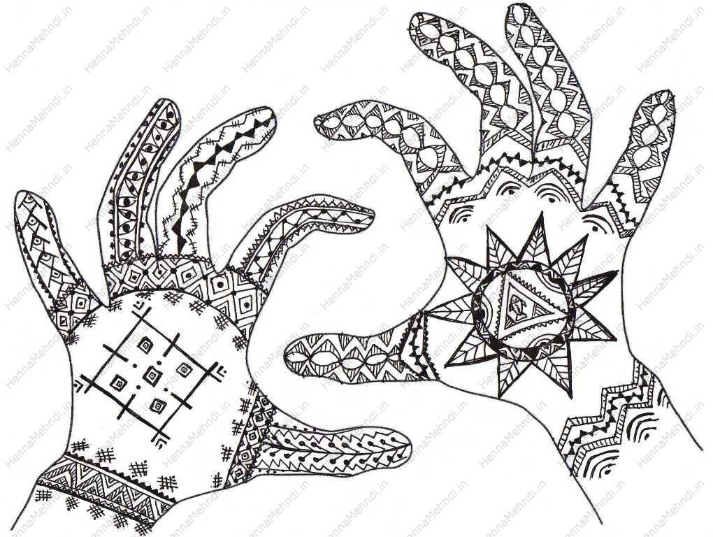 Tribal African Tattoo Designs