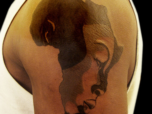 African tattoo images designs for Black african queen tattoos