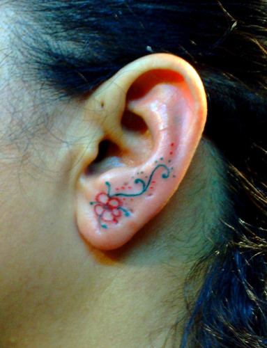 Ear Tattoos : Page 50