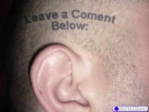 Tattoo left ear gay