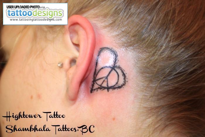 ear tattoo images designs. Black Bedroom Furniture Sets. Home Design Ideas