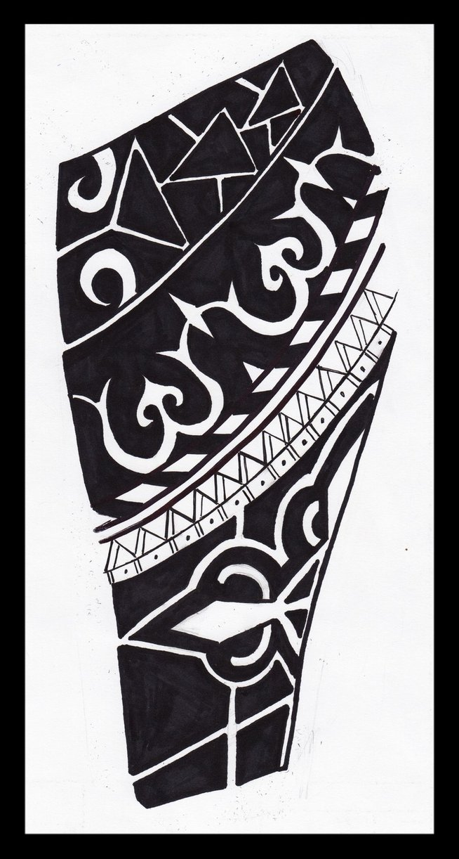 African Tribal Tattoo Half Sleeve: African Tribal Sleeve Tattoo Design