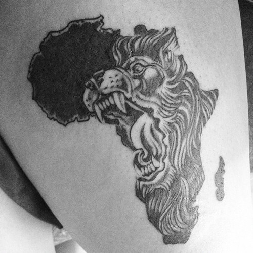 African Tattoo Images & Designs Aztec Eagle Warrior Drawing