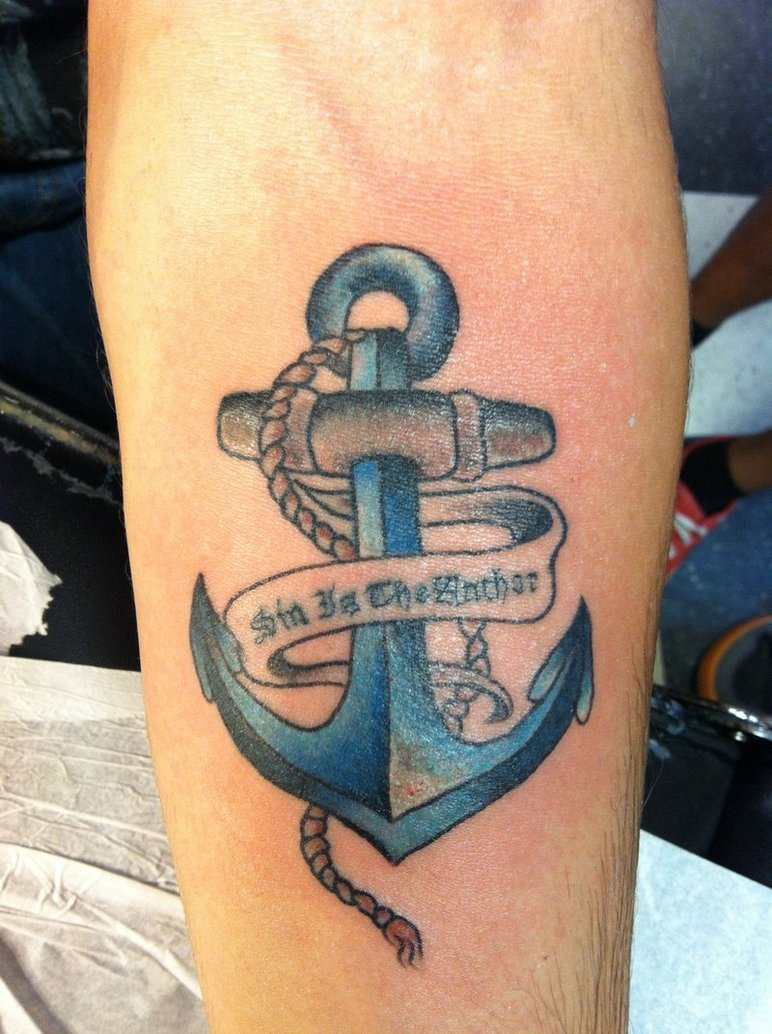 Anchor Tattoos With Flowers Anchor tattoo with flowers Anchor Tattoos With Sayings