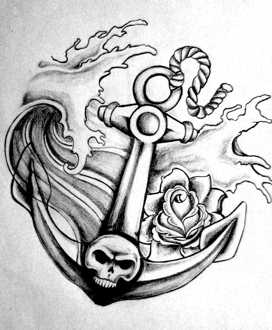 Anchor Tattoos Page 38