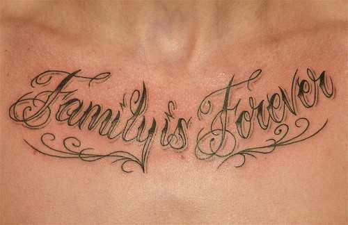 Family Forever Tattoos Family is forever tattoo on