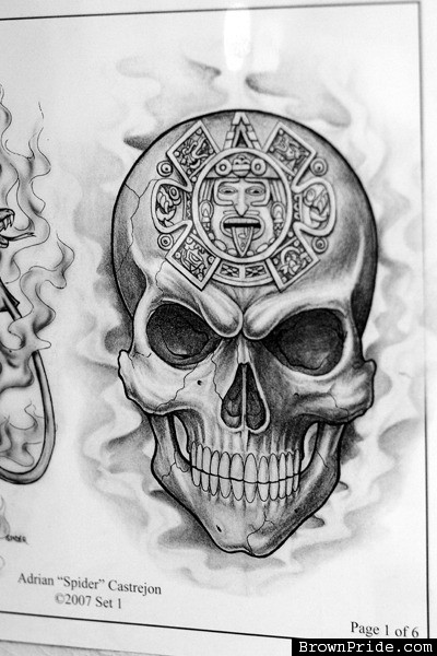 Aztec Tattoo Images Amp Designs