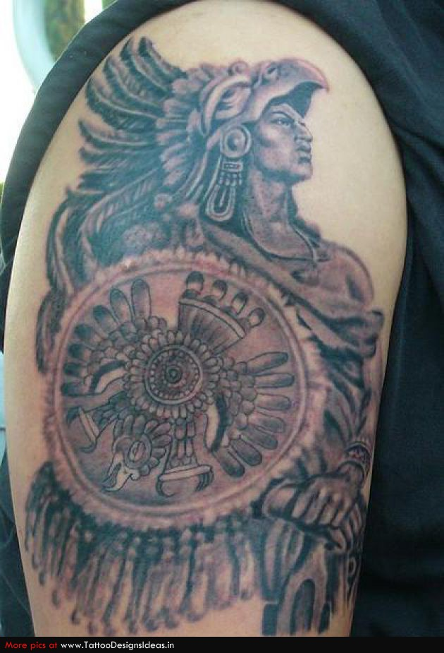 Aztec Tattoo Images & Designs