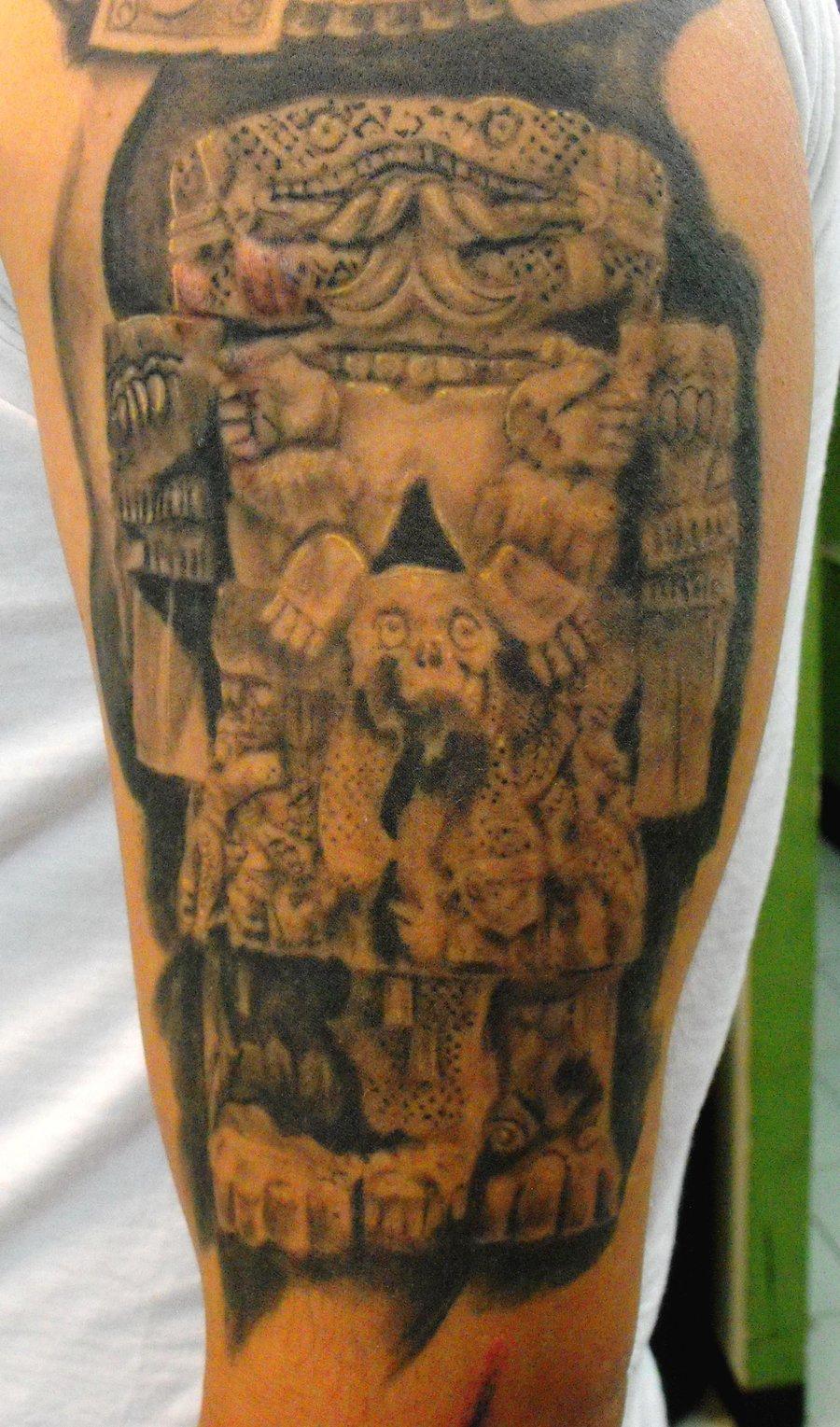Aztec Tattoo Images Amp Designs