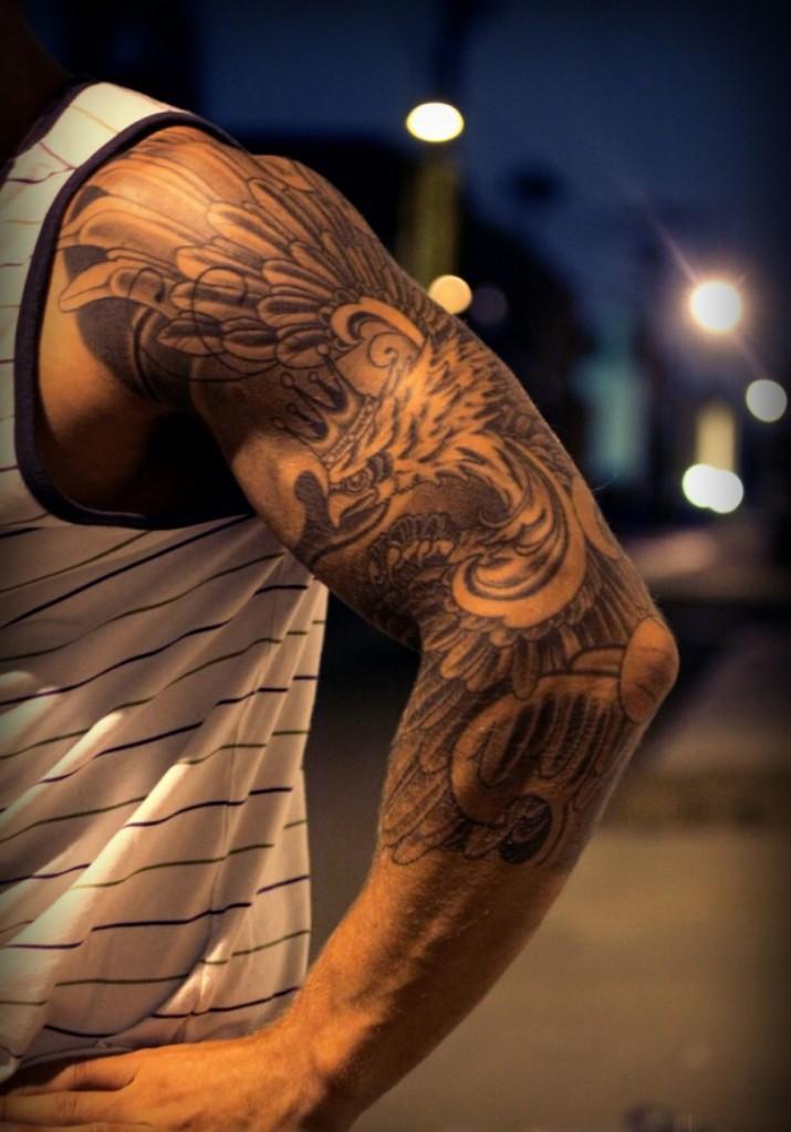 Sleeve tattoos page 15 for Half sleeve tattoos men
