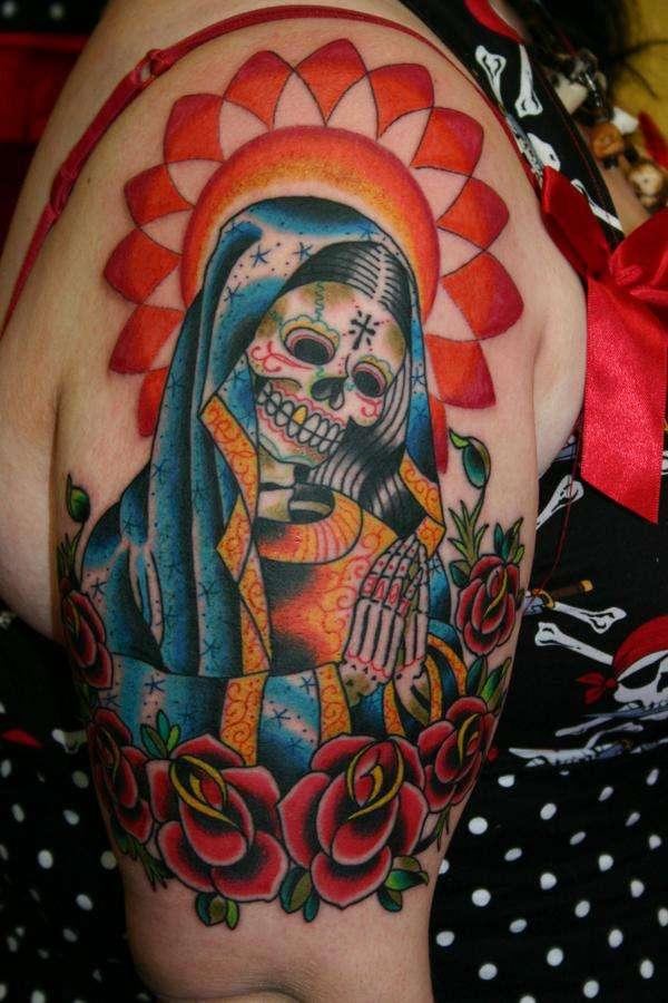 Sleeve Tattoos Designs & Ideas : Page 116 Dia De Los Muertos Sleeve Tattoos
