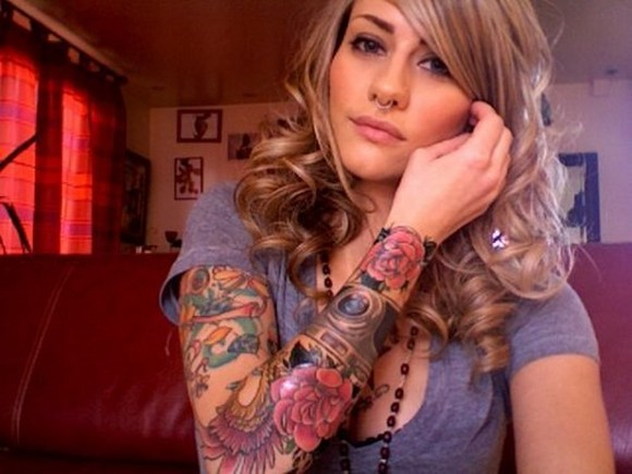 Girls With Tattoo Sleeves