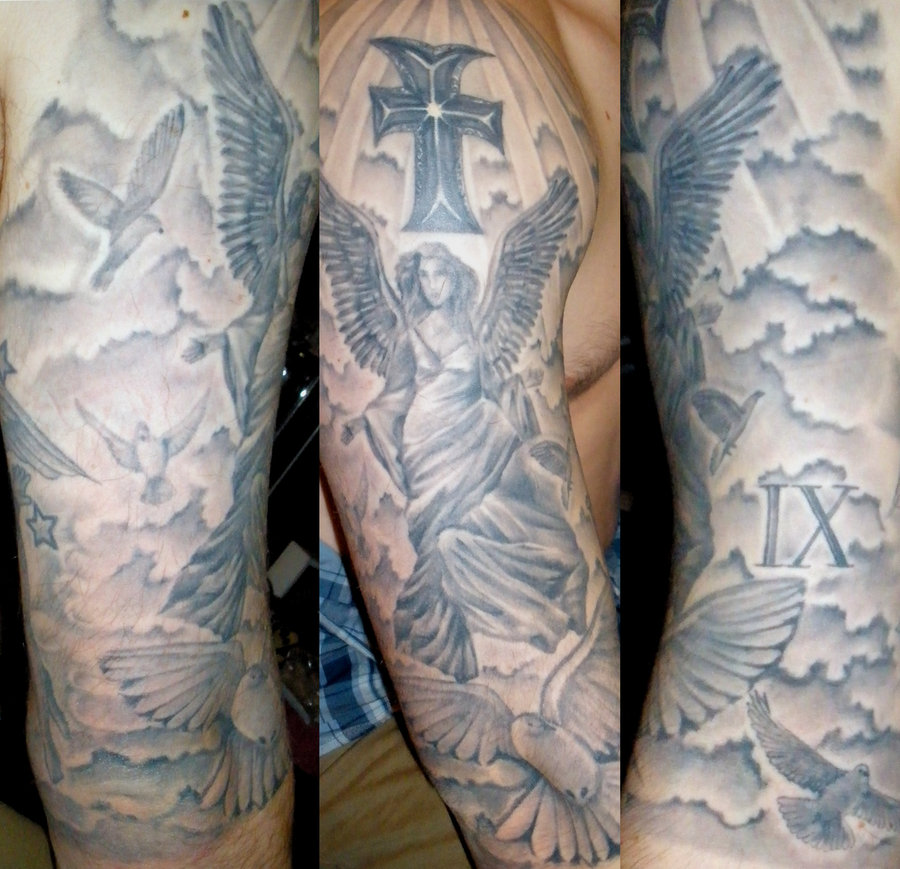 Religious Sleeve Tattoos For Men