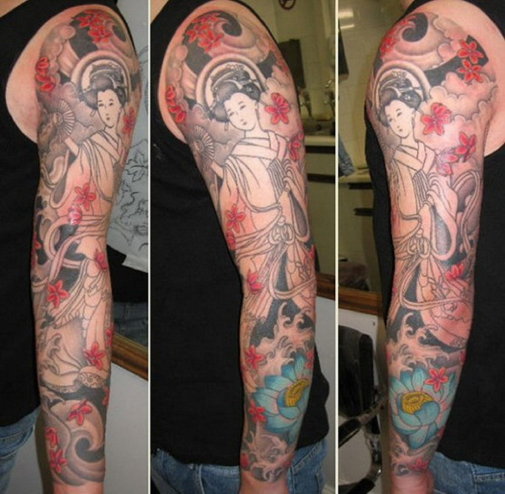 Sleeve Tattoo Images & Designs