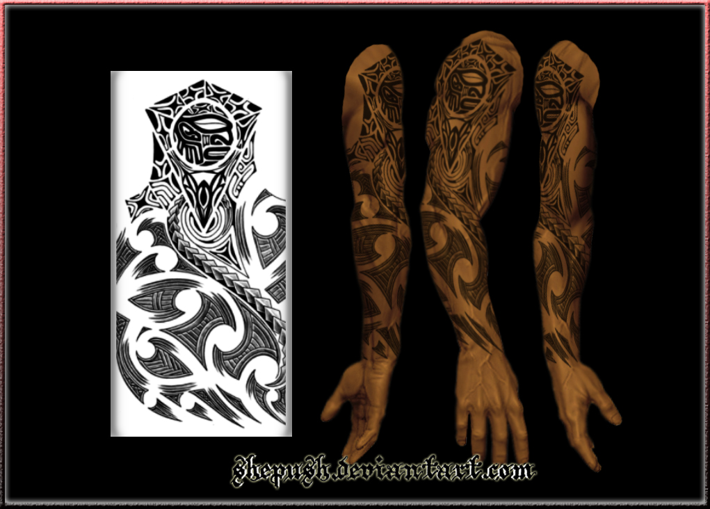 tattoos polynesian chest tribal stencil tribal tattoo Car maori template full sleeve chest polynesian