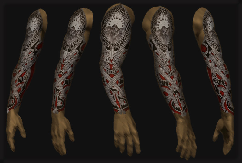 arm ups tattoos tribal cover Sleeve Page Tattoos 44 :