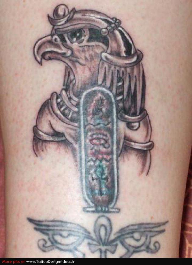 Horus God Tattoo Egyptian god horus tattoo