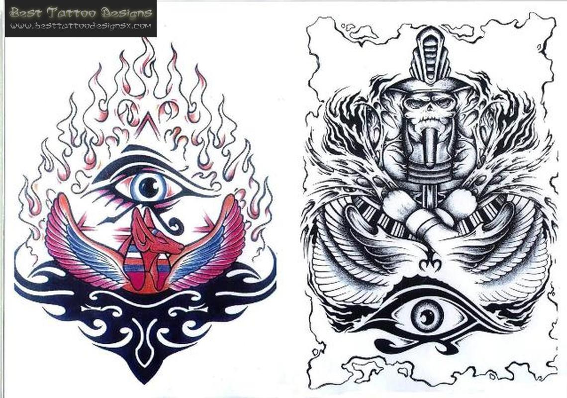 Egyptian tattoo designs art camp