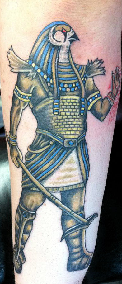 egyptian dog tattoo - photo #6