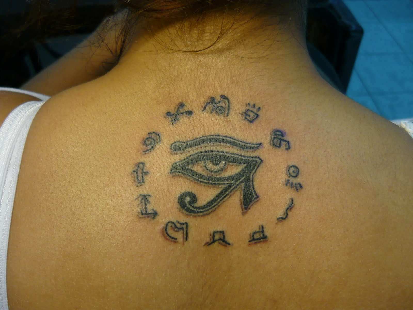 Egyptian Symbols Tattoos Designs