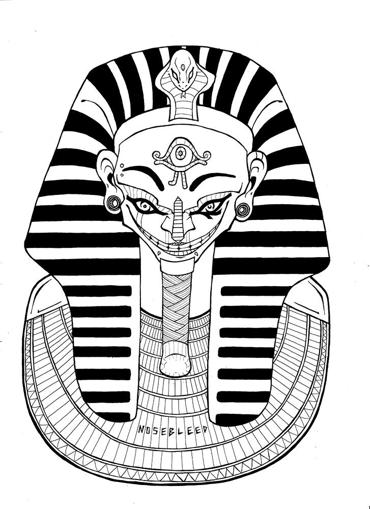 Egyptian Tattoo Design