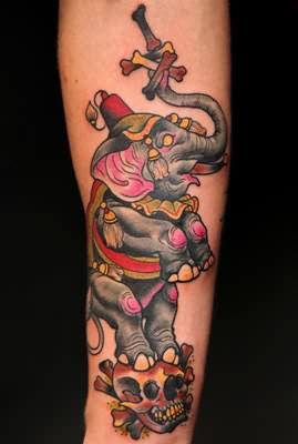 Elephant Tattoo Images Amp Designs
