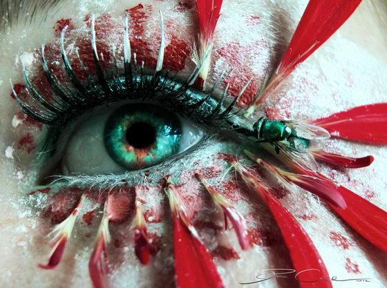 Beautiful 3D Eye Tattoo
