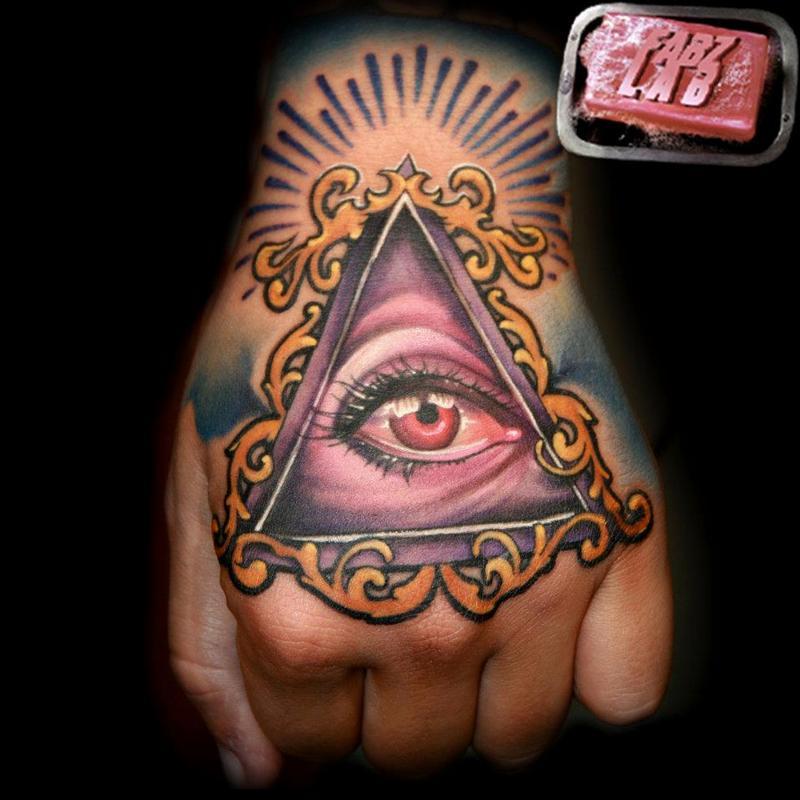 Hand Eye Tattoo: Eye Tattoo Images & Designs