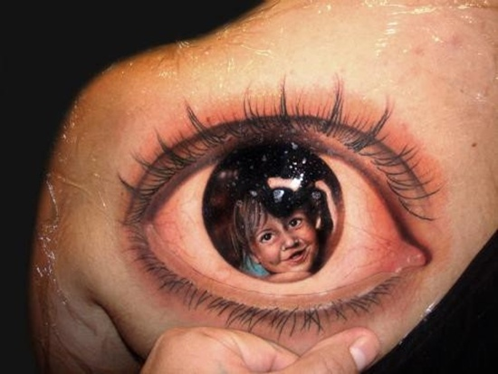 Tattoos of eyes for those who think they 39 ve seen for Tattoos in the eye