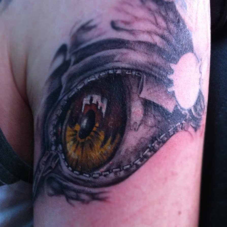Tattoo Designs Of Zips: Eye Tattoo Images & Designs