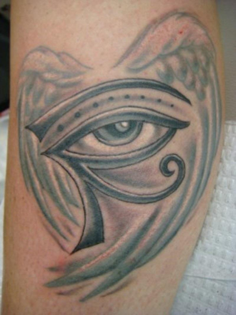 Winged Era Eye Tattoo
