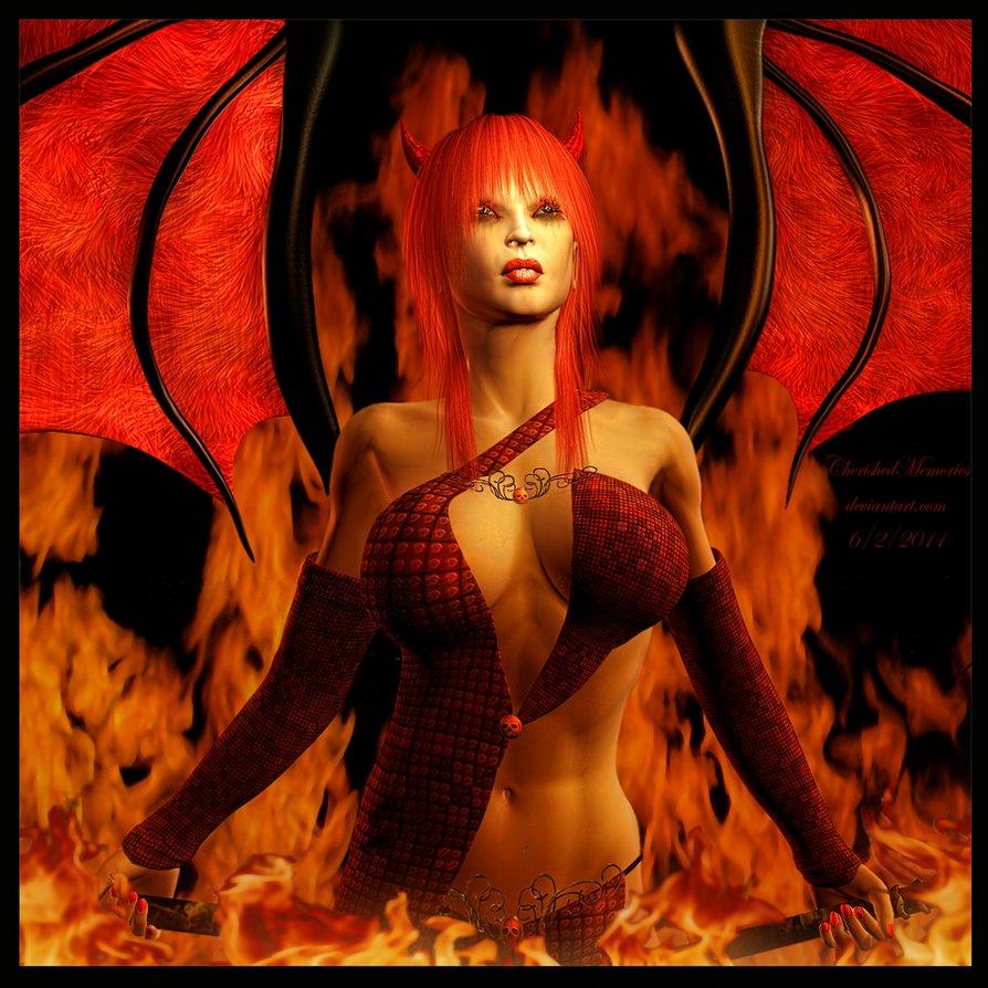 Naked devil tattoos 4