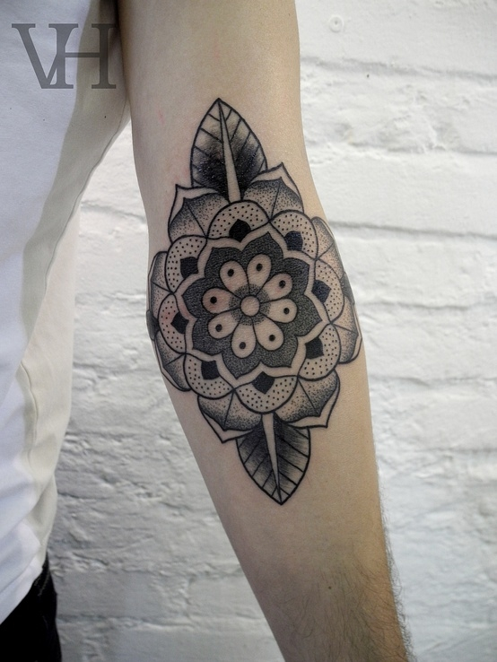Elbow Tattoo Images & Designs