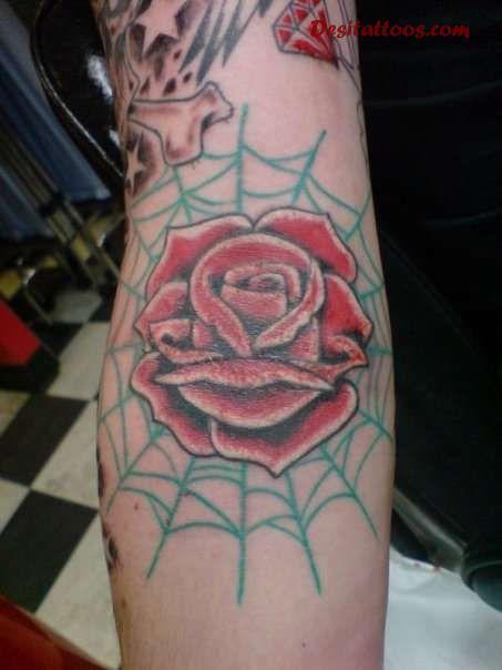 Inside Elbow Tattoo In...