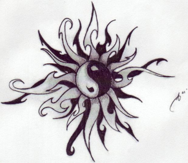 yin yang tattoo images amp designs