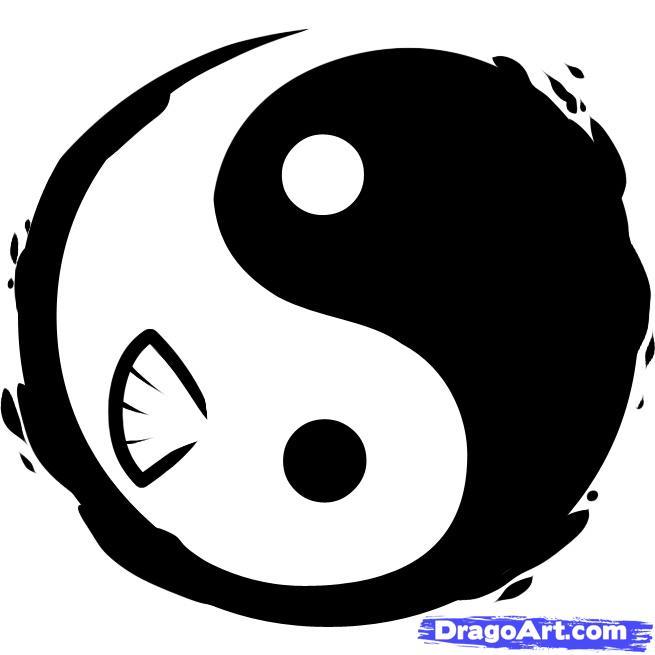 Yin Yang Tattoo Images Designs